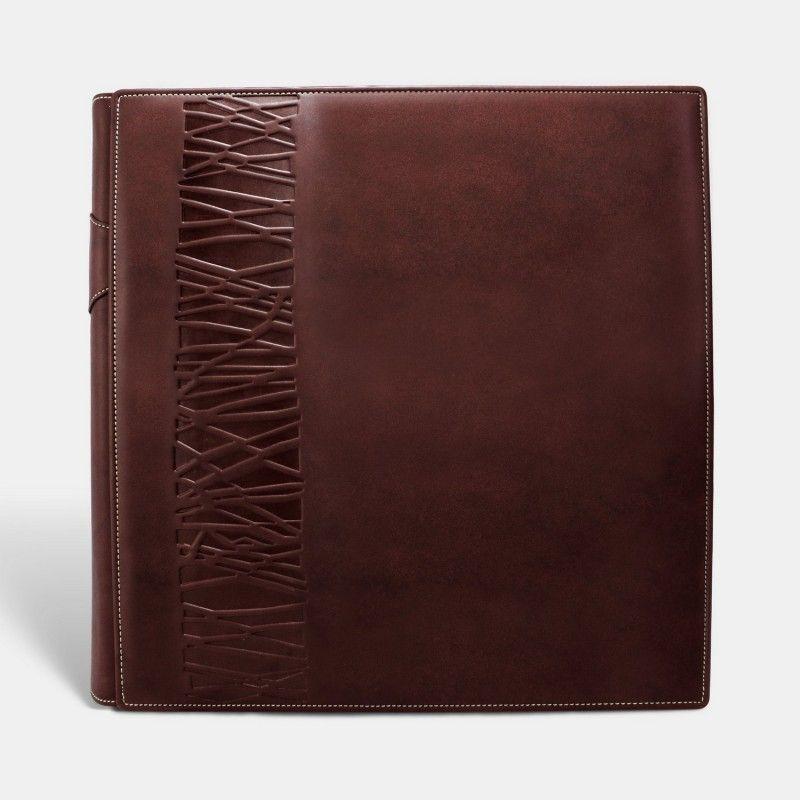 Álbum tradicional fotos de papel, Cuero Marrón
