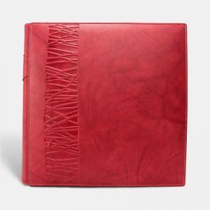Álbum fotos tradicional vaqueta Rojo