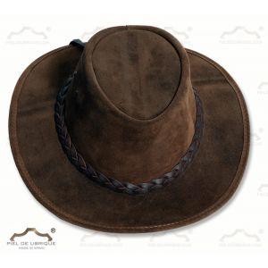 Sombrero de piel de Serraje tipo ante