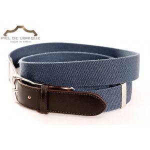 Cinturón Elastico Extensible remates piel