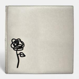 Álbum tradicional para bodas simil piel, Rose