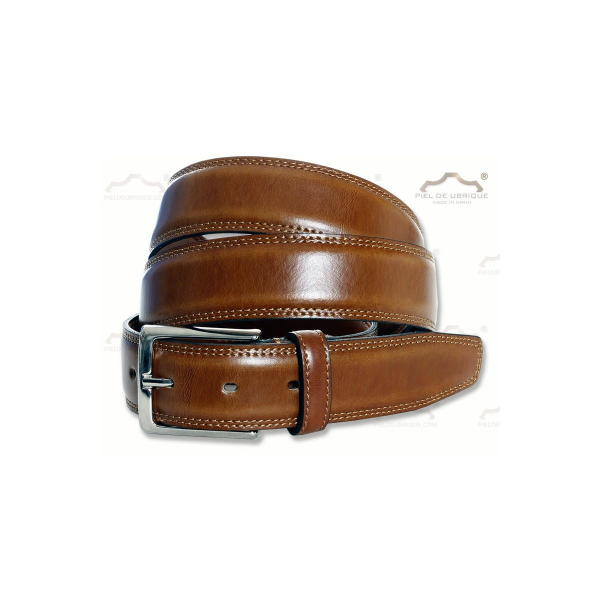 Cinturón de piel para hombre df109641b305