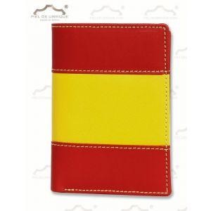 Cartera pequeña, Tarjetero, billetero Bandera España