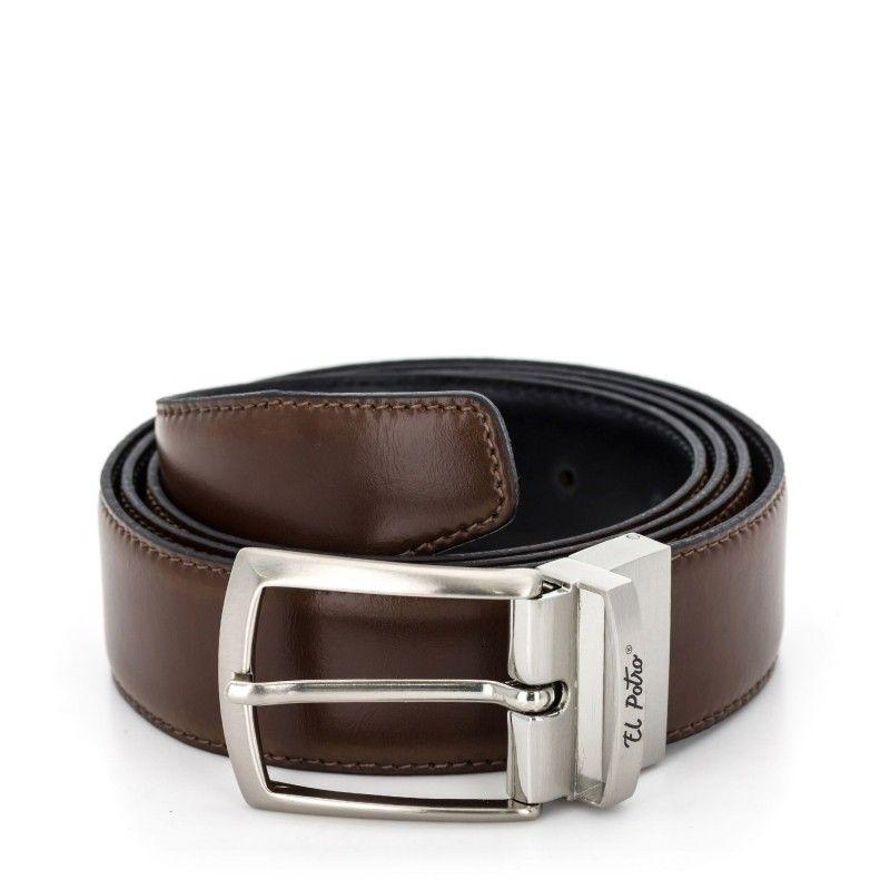 estilo de moda sitio web para descuento amplia selección de colores EL POTRO, Cinturón Hombre Elegante, fabricado en piel...