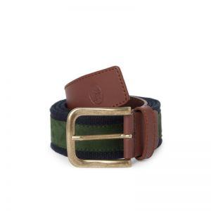 Cinturón Hombre Piel y Textil EL POTRO