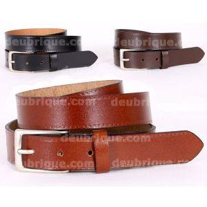 Cinturón piel hombre campero