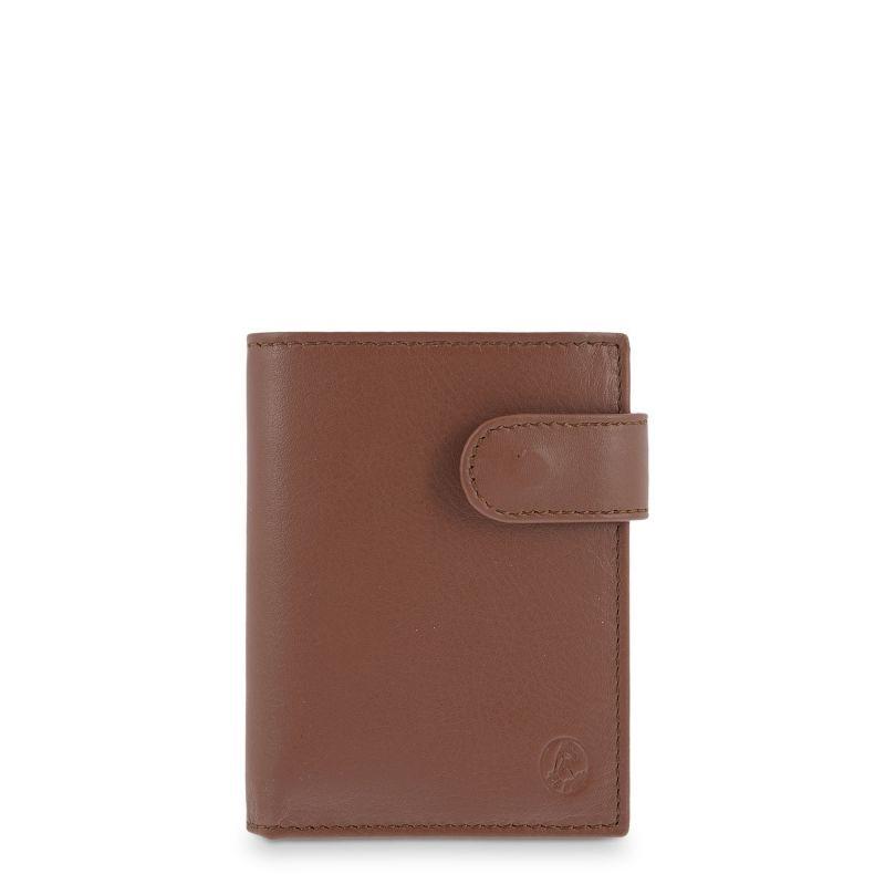Cartera billetera piel hombre cuero box