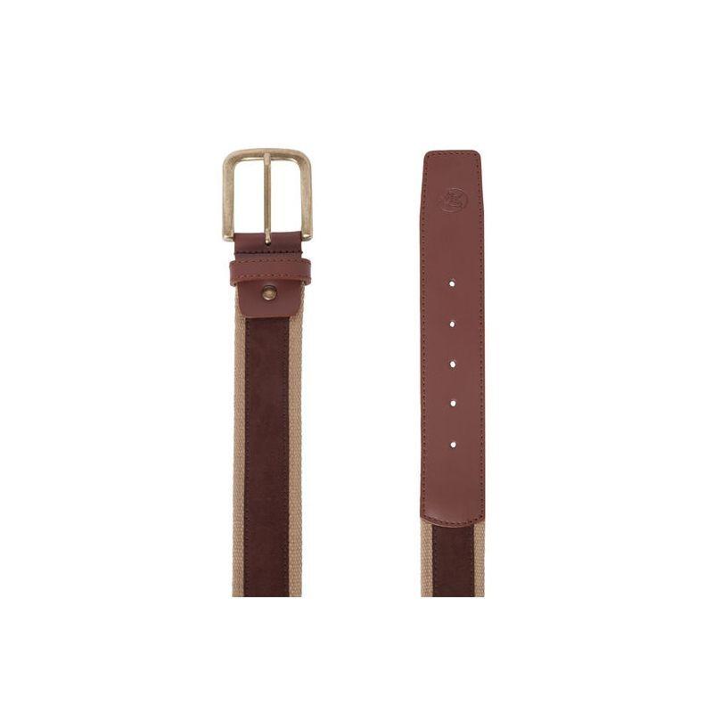 Cinturón hombre serraje marrón