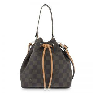 Bolso mano mujer saco marrón chess