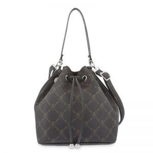 Bolso mano mujer saco marrón diamond