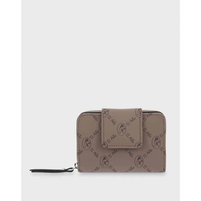 Cartera billetera mujer moca diamond