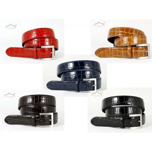 Cinturón piel Cocodrilo imitación