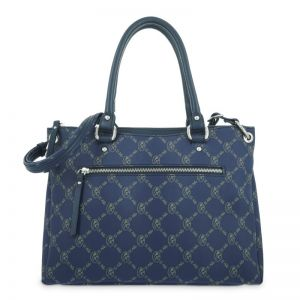 Bolso mano mujer tote azul diamond