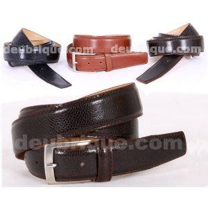 Cinturon de piel caballero dolaro