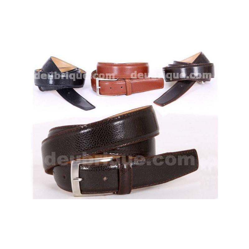 Cinturon de piel para caballero