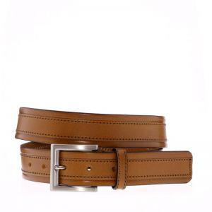 Cinturón de piel para hombre Grabado