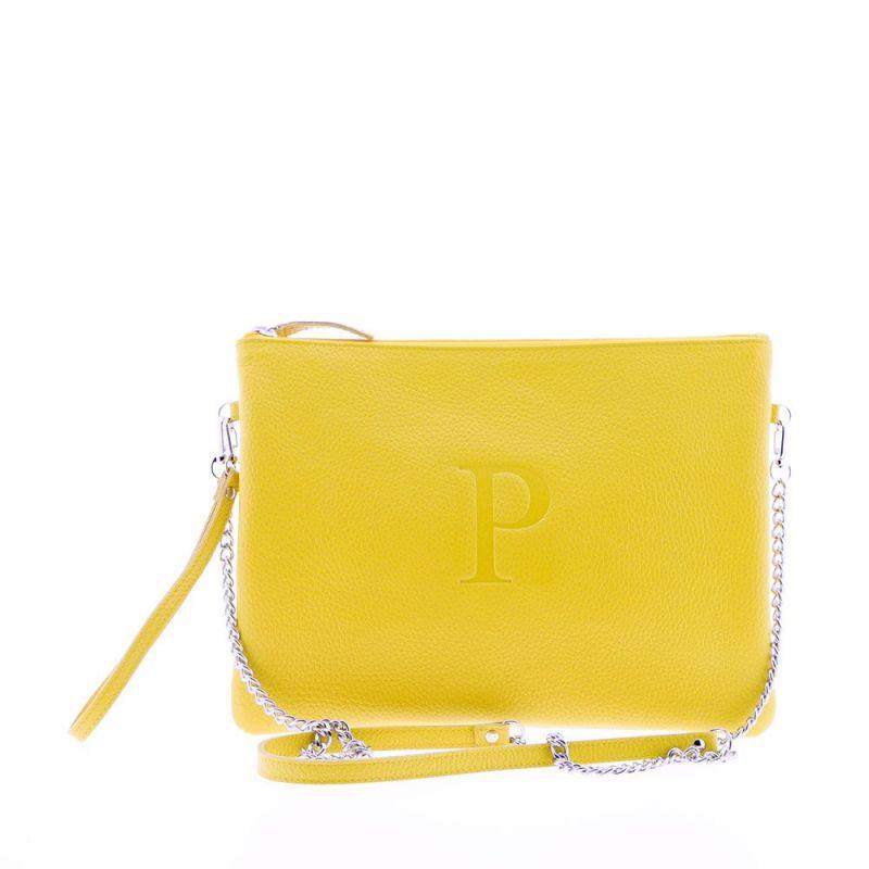 Cartera de mano personalizada amarillo