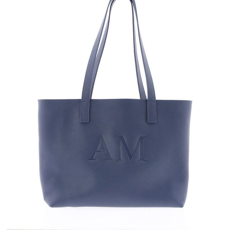 Bolso Personalizado con Iniciales AZUL AZAFATA