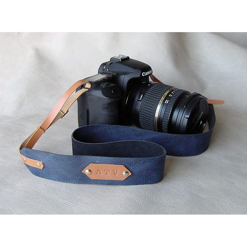 Correa de piel para camara de fotos, Canon, Nikon, Sony, Olympus,